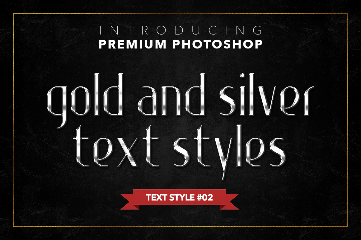 Gold & Silver #1 - 20 Text Styles example image 22