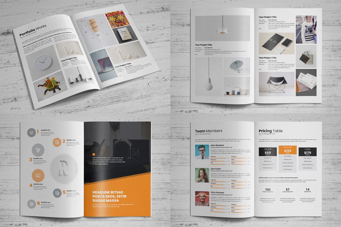 Portfolio Brochure Bundle example image 11