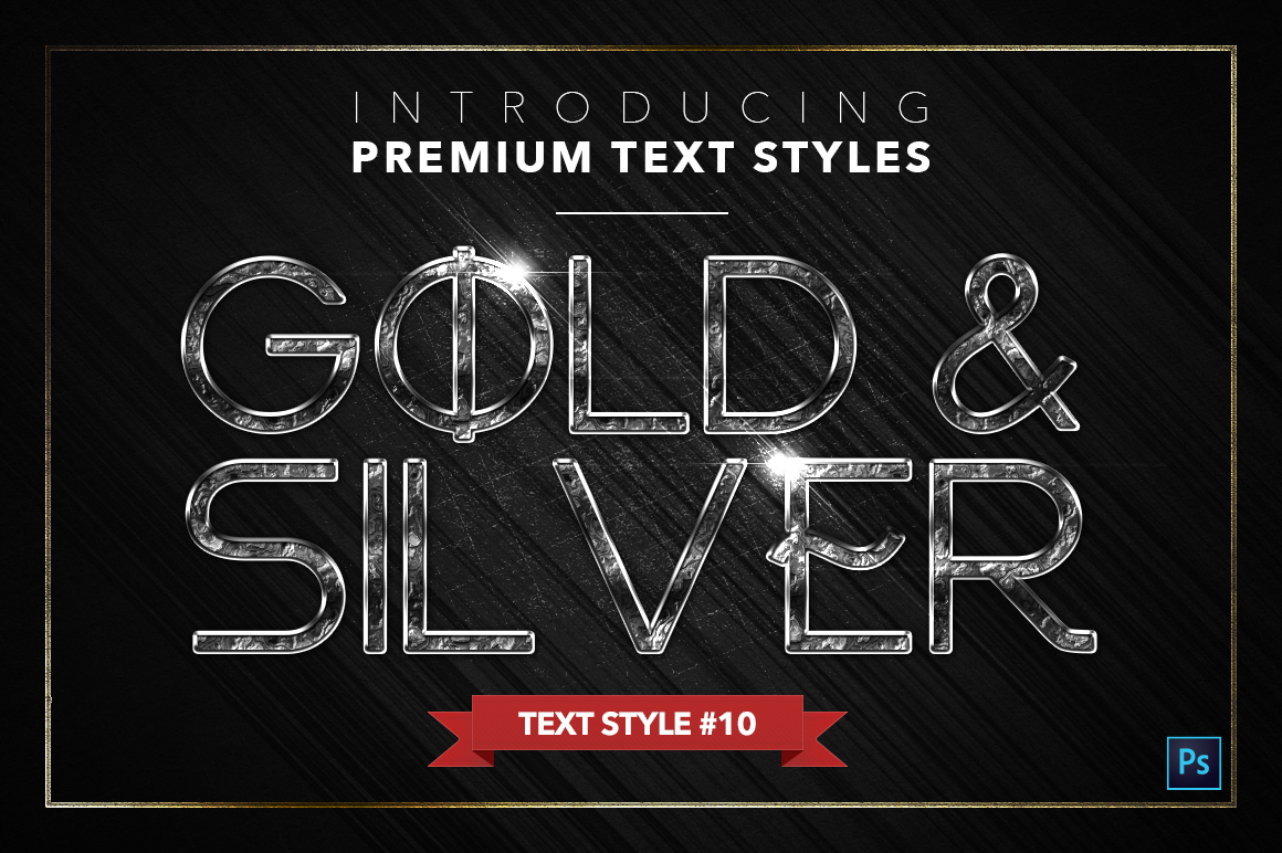 Gold & Silver #5 - 15 Text Styles example image 11