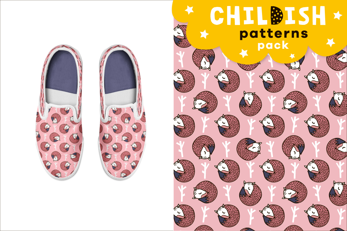 Childish patterns pack vol. 2 example image 2