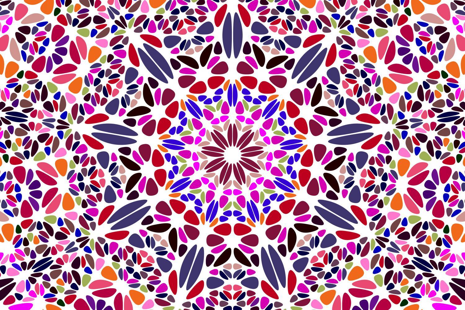 48 Floral Mandala Backgrounds example image 24