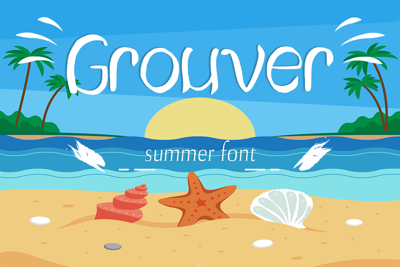 Grouver Font example image 1