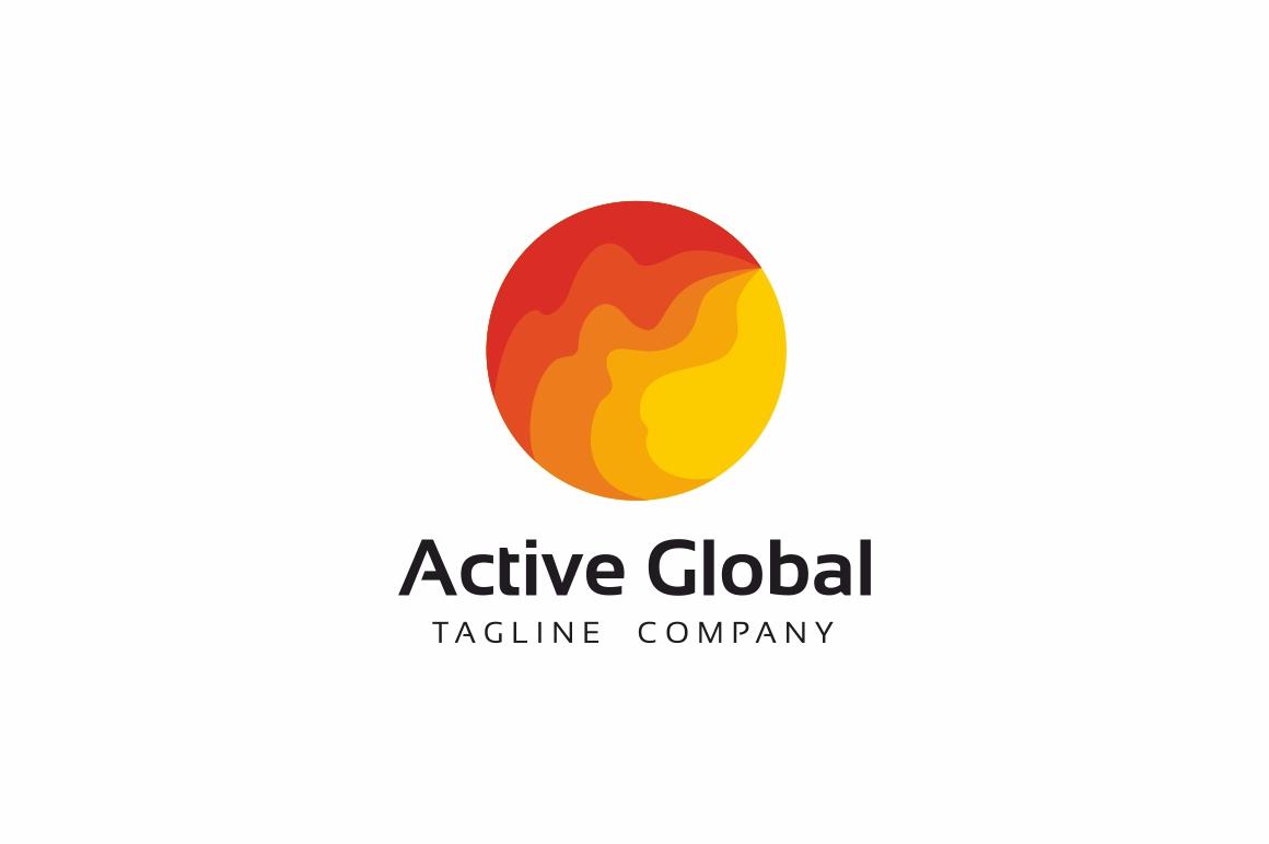 Active Global Logo example image 1