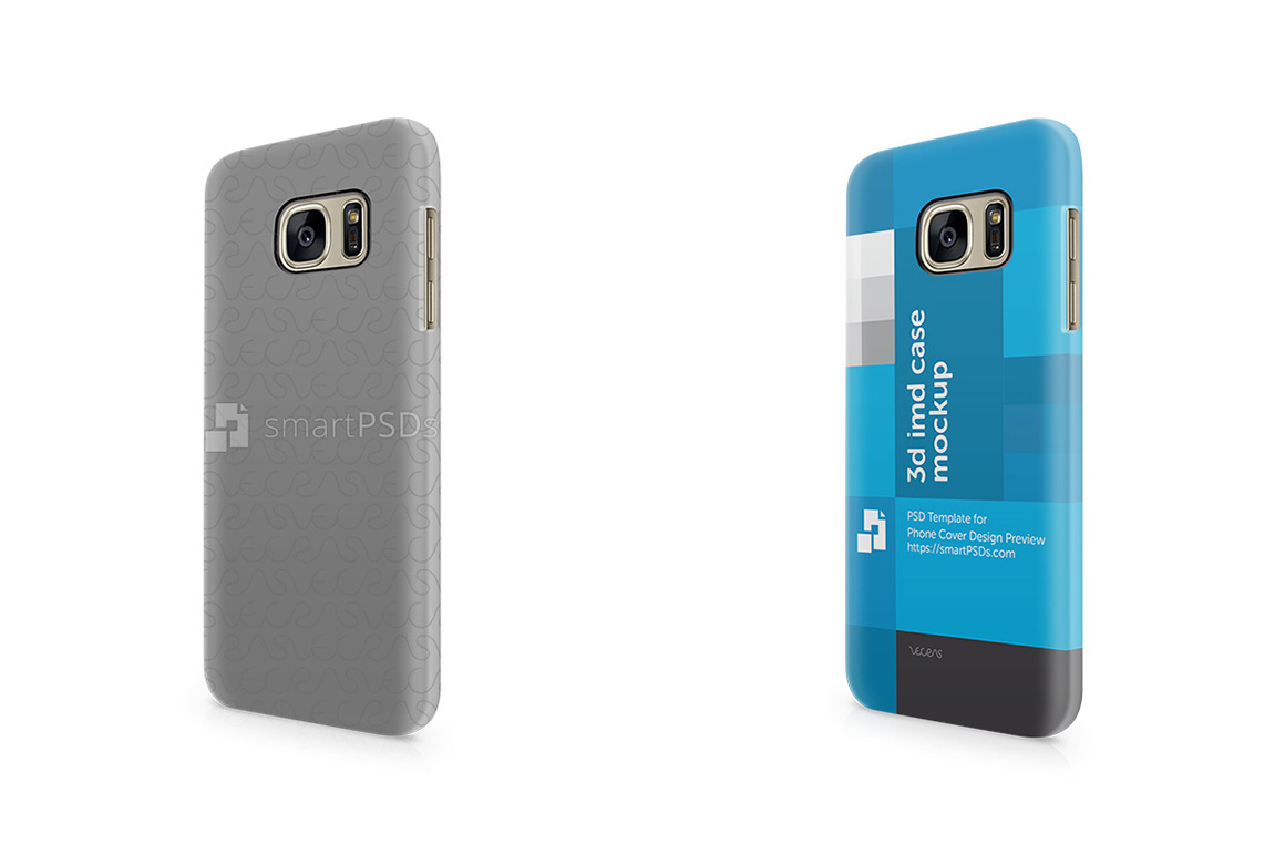 Samsung Galaxy S7 3d IMD Mobile Case Design Mockup 2016 example image 1