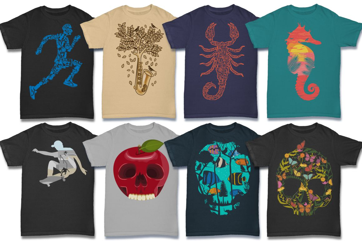 103 Tshirt Designs Mega Bundle example image 11