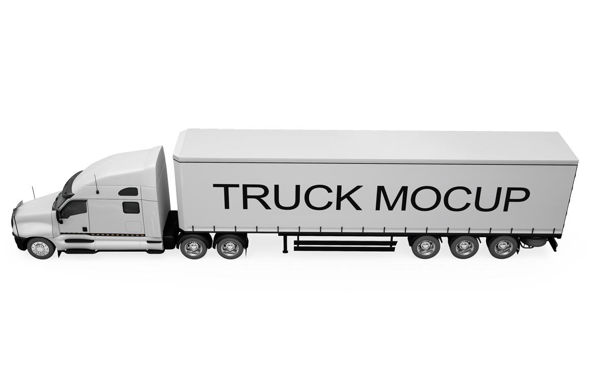 Truck Mockup example image 16