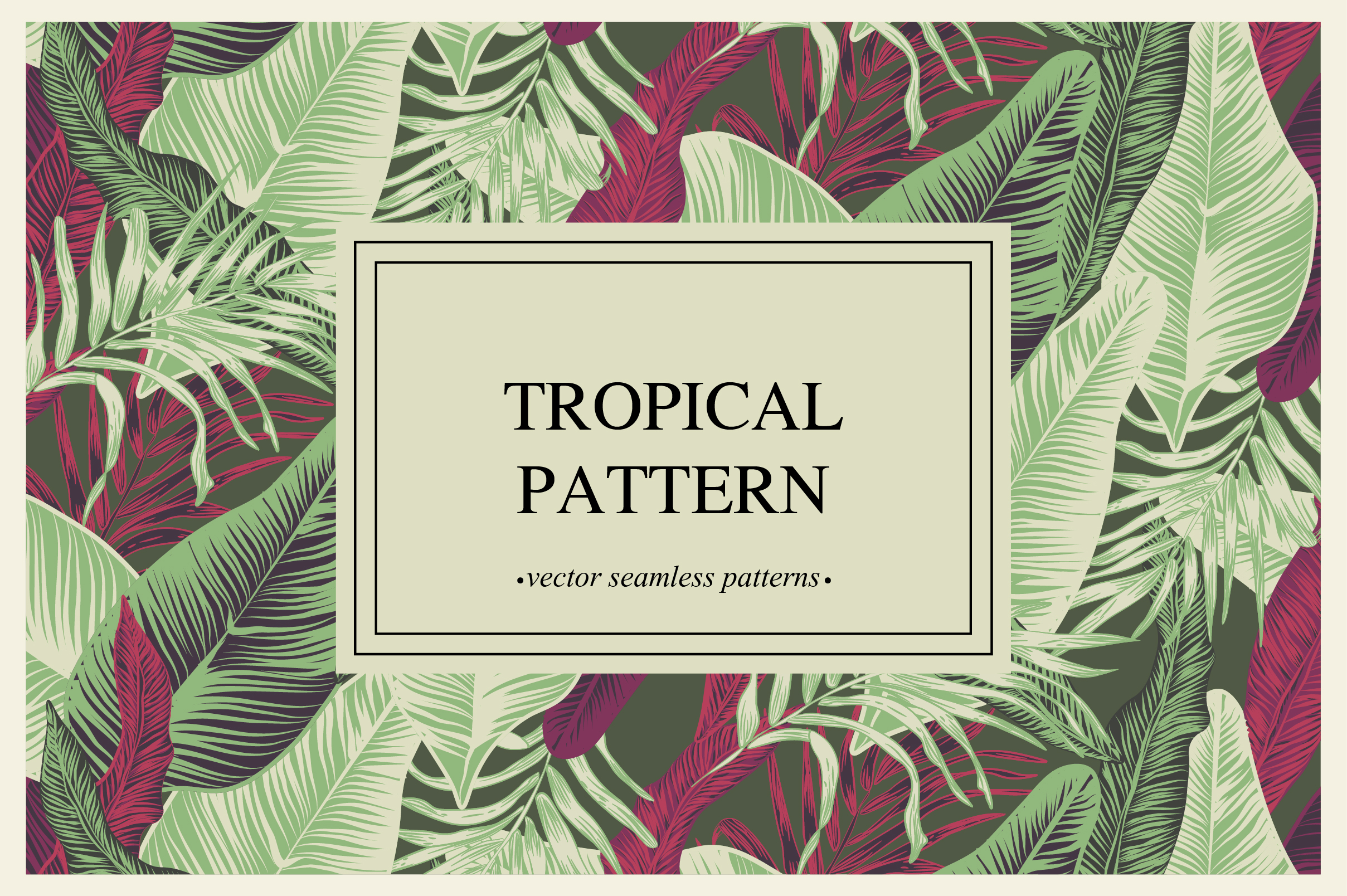 Tropical pattern example image 6