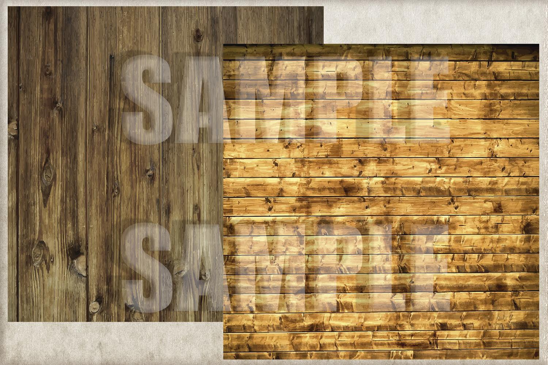 Rustic Wood Digital Paper, Digital Background example image 2