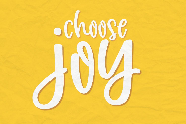 Joyfully Font & Graphics example image 5