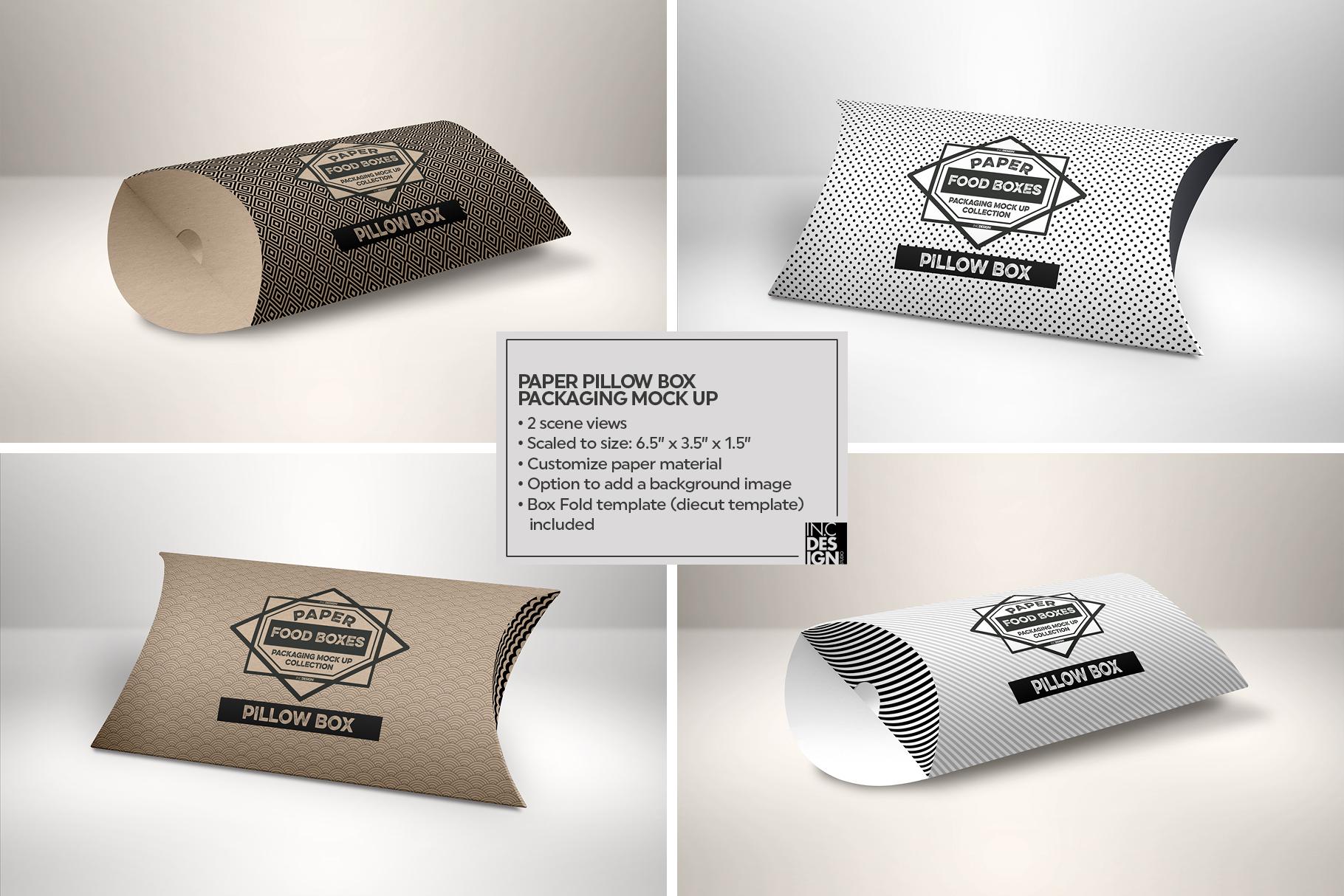 VOL.1 Food Box Packaging MockUps example image 17