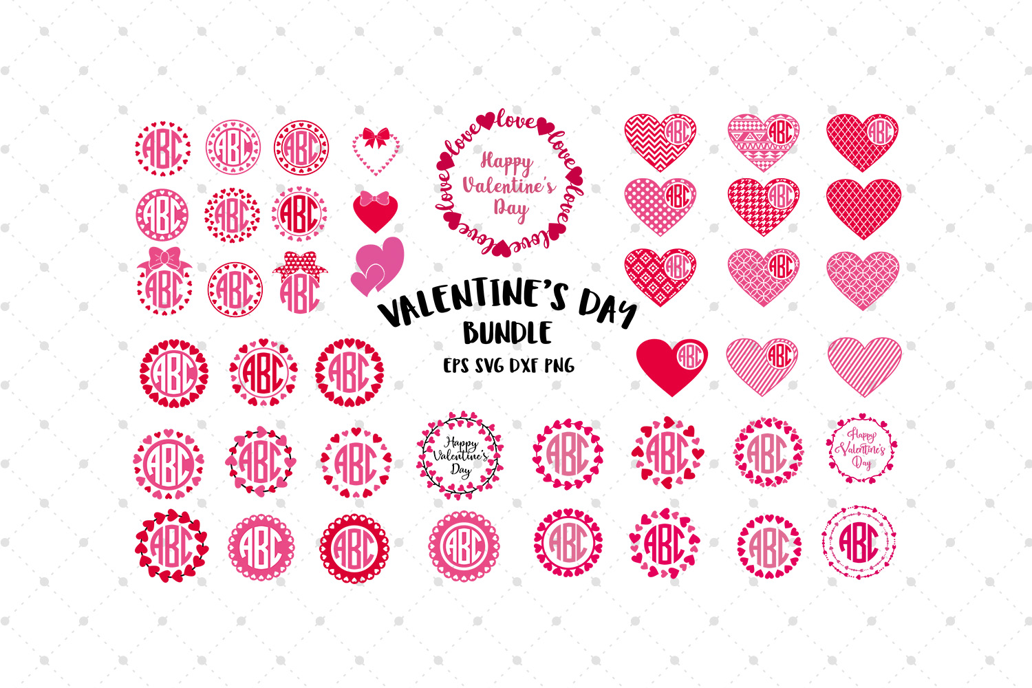 Valentines Day SVG Bundle  example image 2