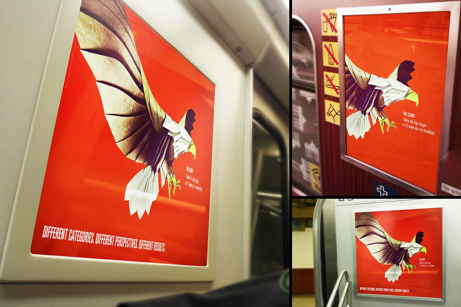 Subway Train Poster Mockup Templates example image 2