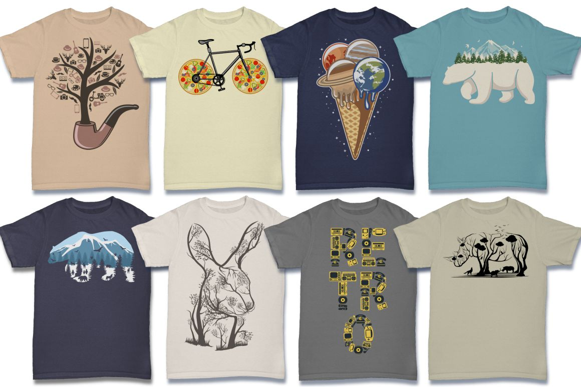 103 Tshirt Designs Mega Bundle example image 10