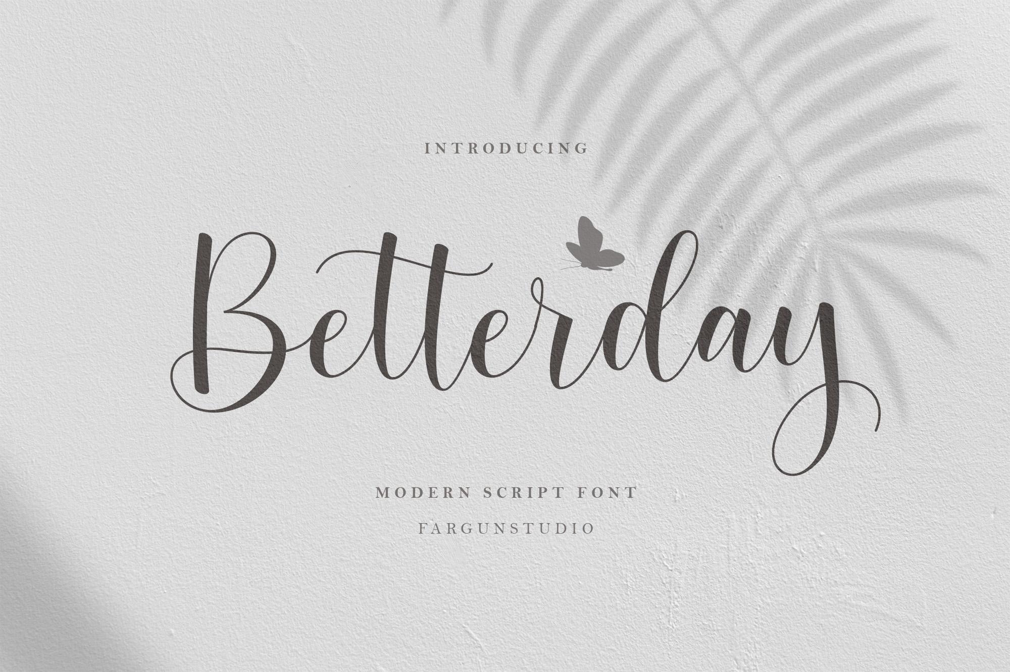Betterday Script example image 1
