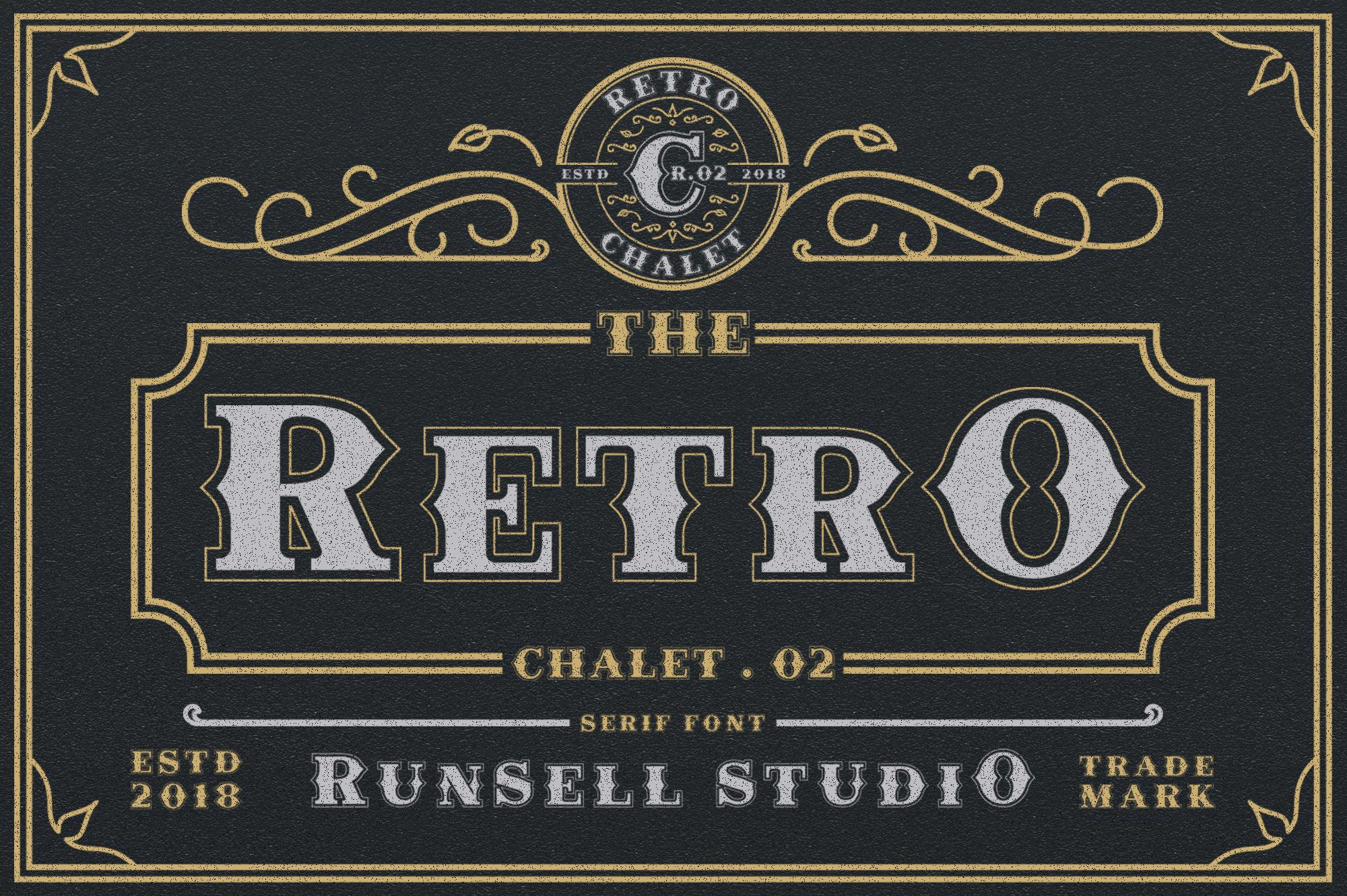 Retro Chalet .02 example image 1