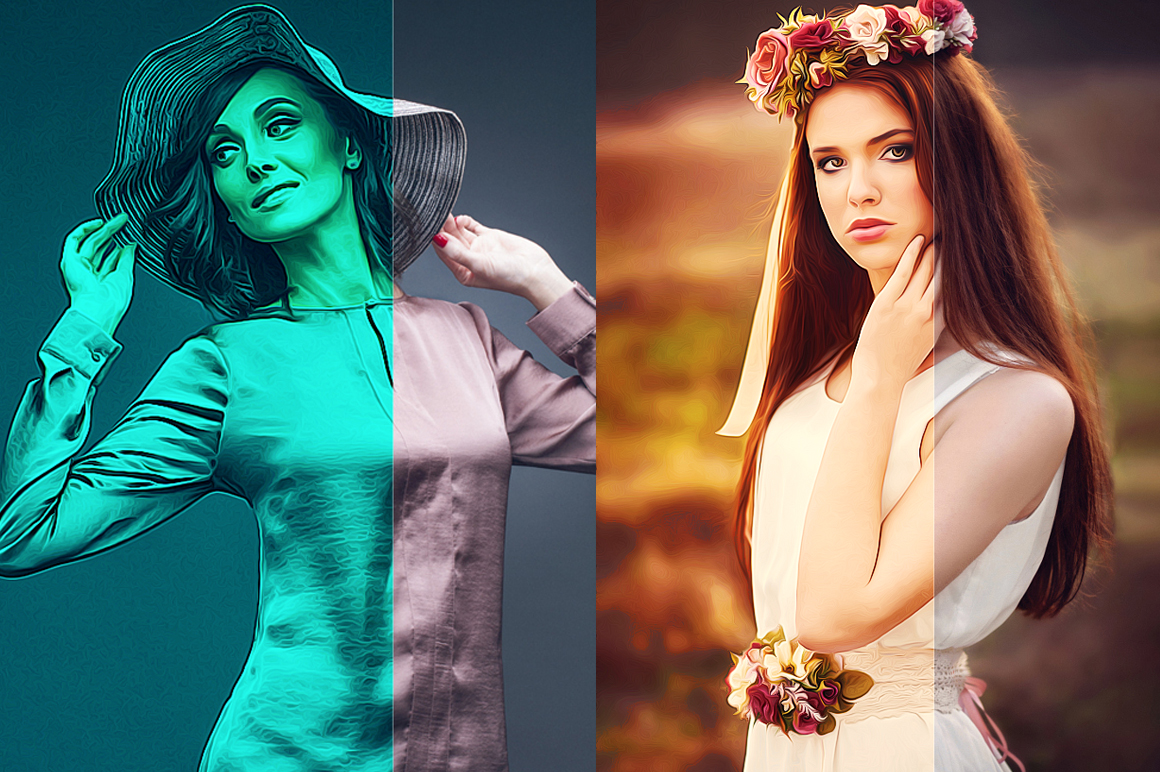 10 Pro Realistic Painting Effects example image 4