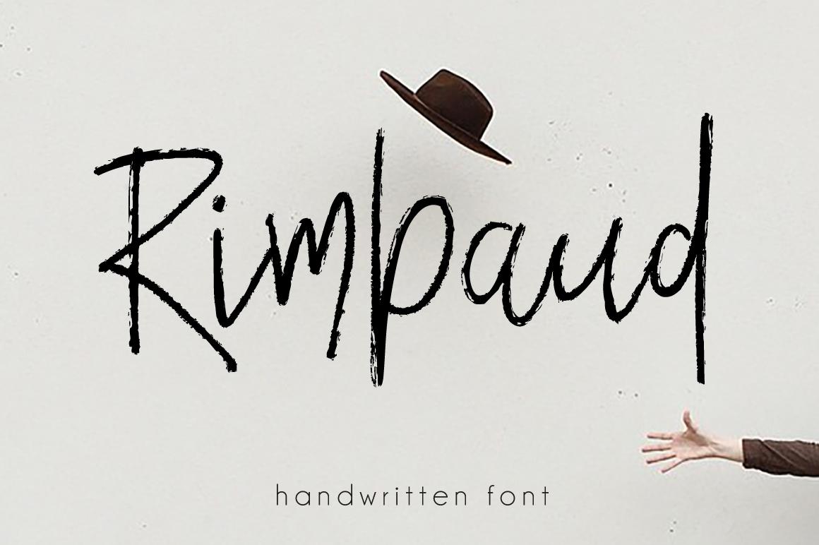 Rimbaud Script example image 1