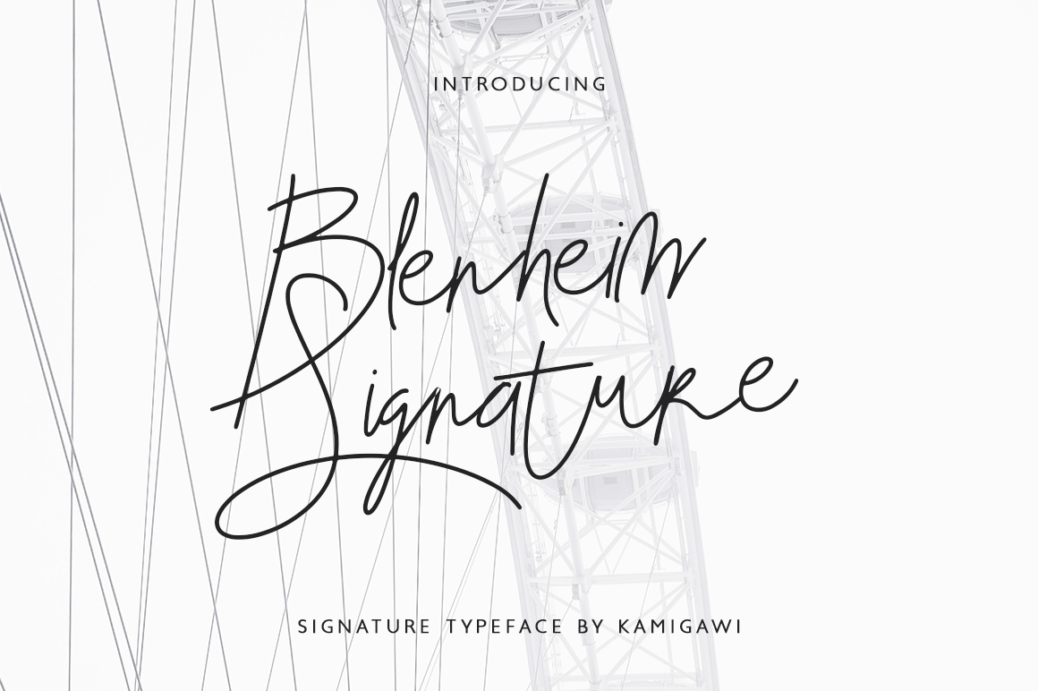 Blenheim Signature example image 1