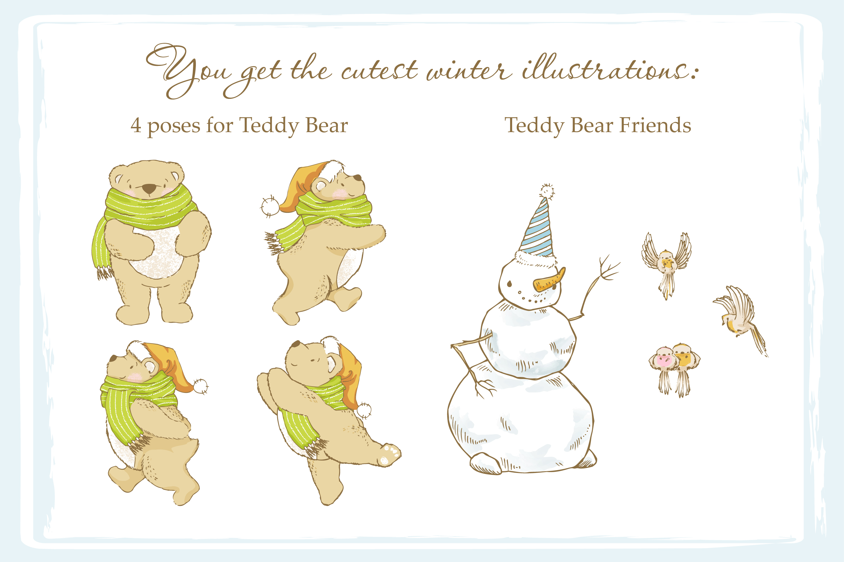 Teddy Bear little story. example image 9