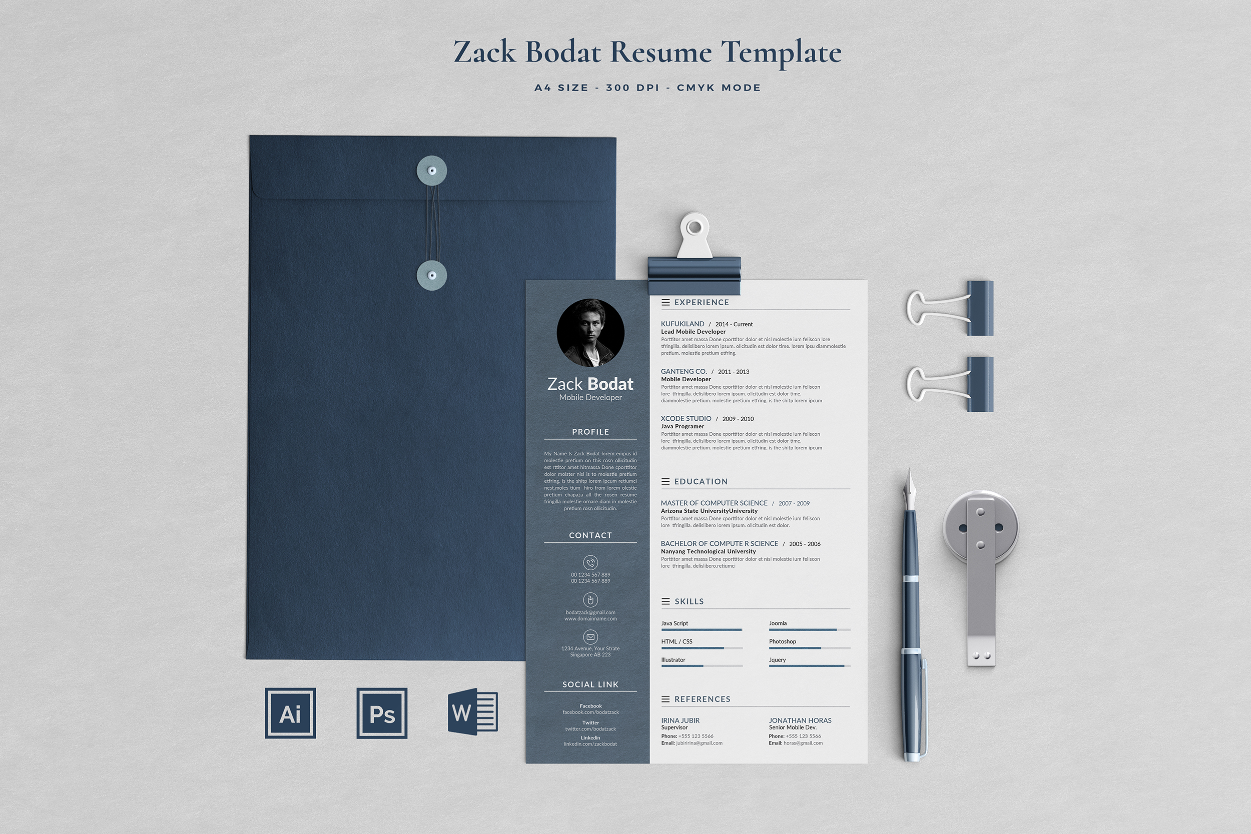 Job Seeker's Resume Bundle example image 15