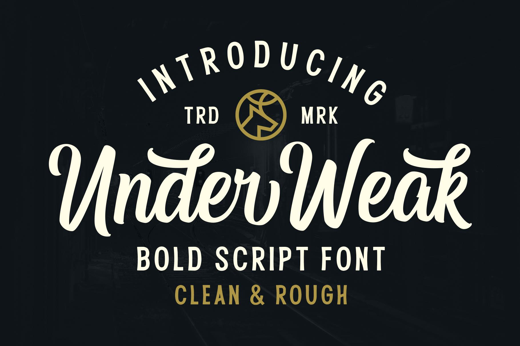 Under Weak Font example image 1
