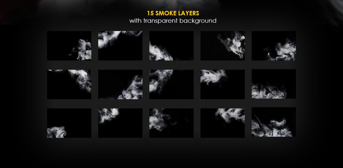 Smoke Business Card MockUp example image 4