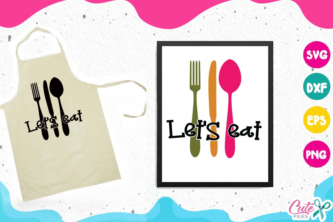 Kitchen bundle, my kitchen my rules svg cut files example image 14
