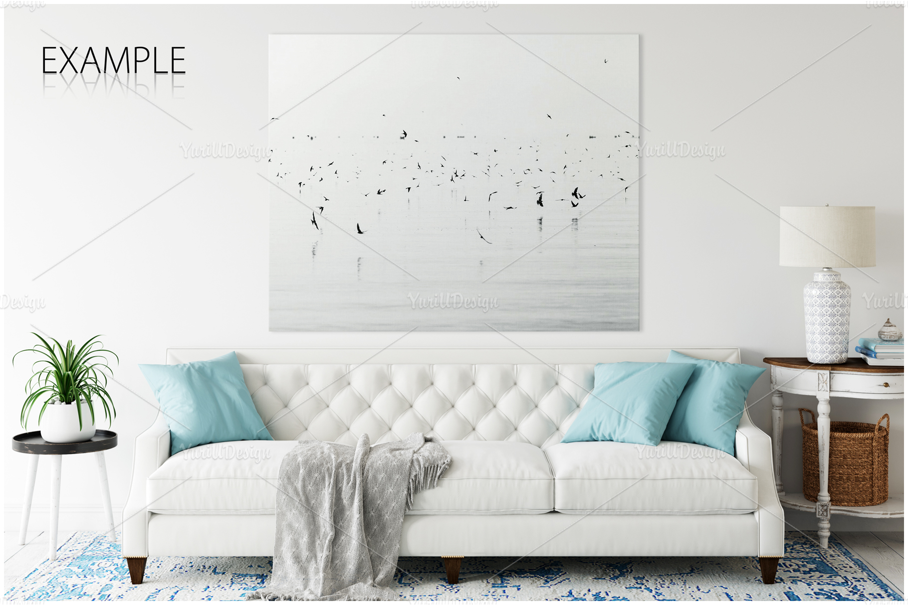 Frames & Walls Coastal Mockups Bundle example image 11