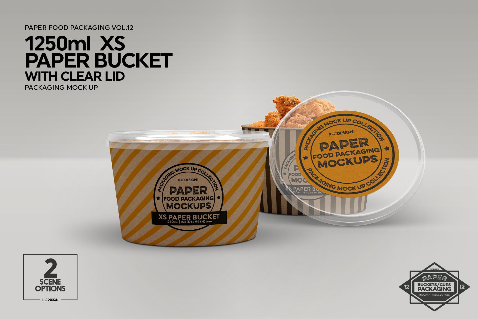 VOL.12 Food Box Packaging MockUps example image 18