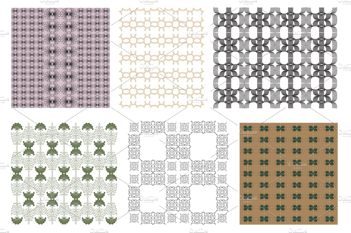 Soft Garden Collection Pattern Two example image 2