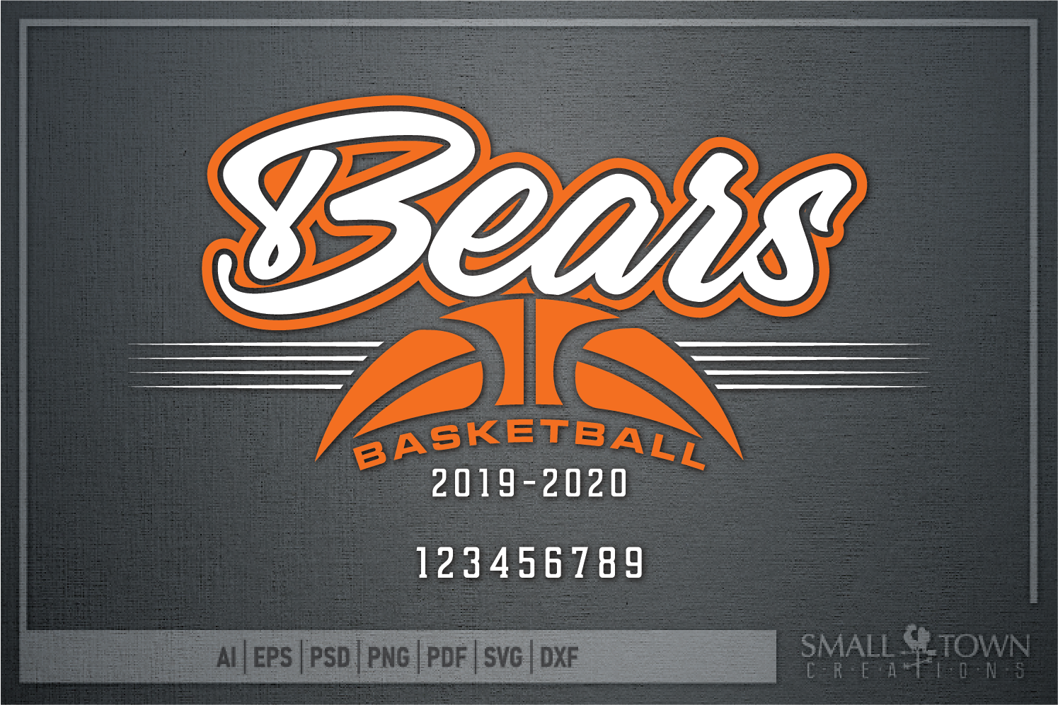 Bear, Bear Basketball, Sport, Design, PRINT, CUT, DESIGN example image 5