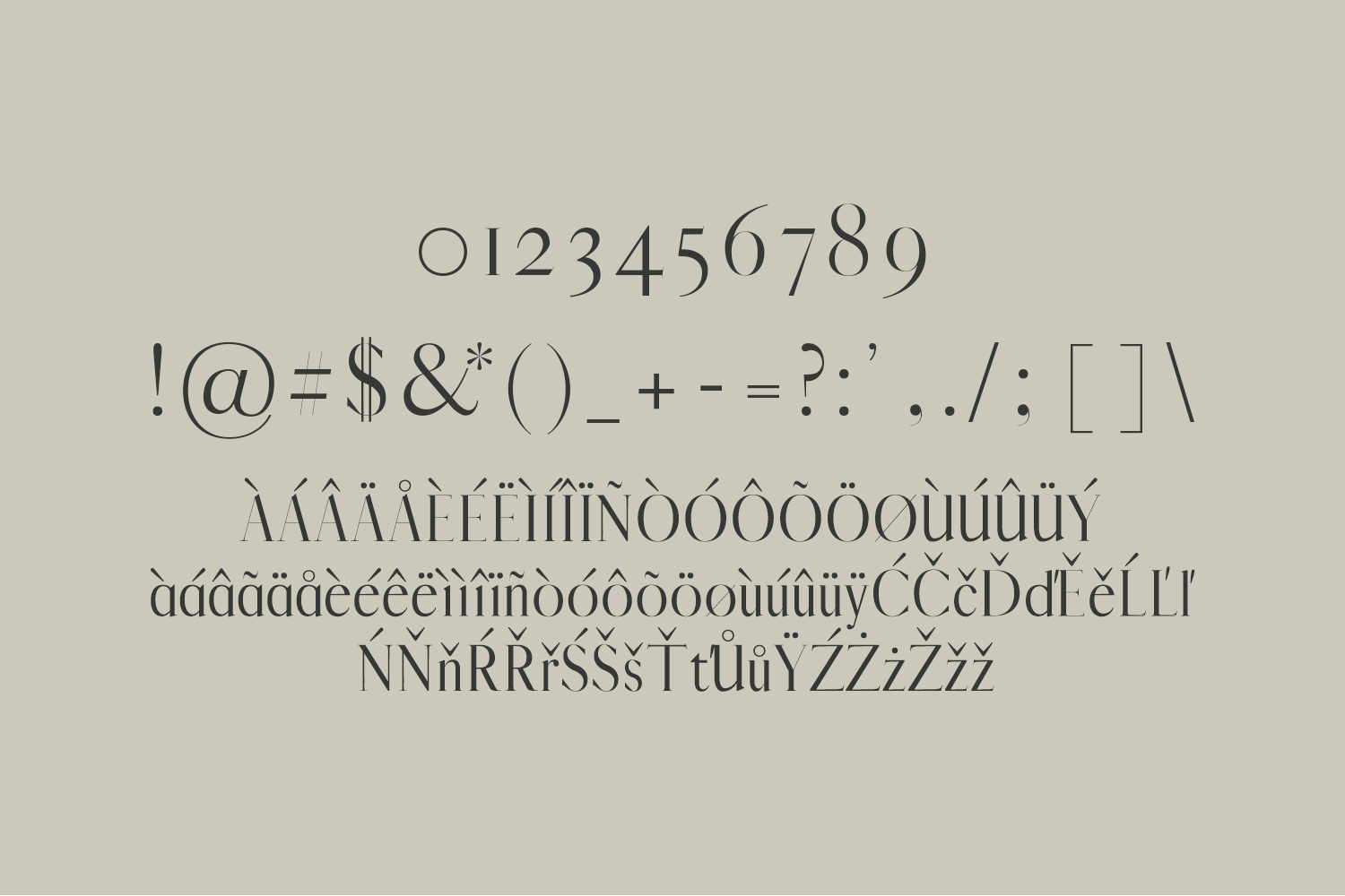 Jerrad Beautiful Serif Font Family example image 3