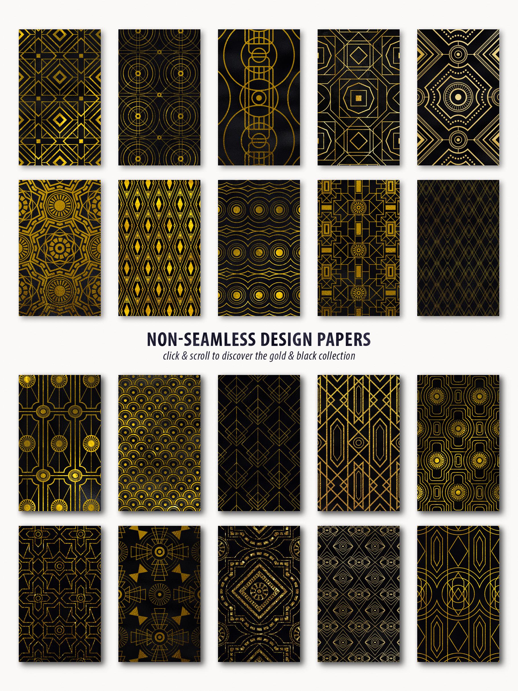 Noir - Patterns & Textures Bundle example image 25