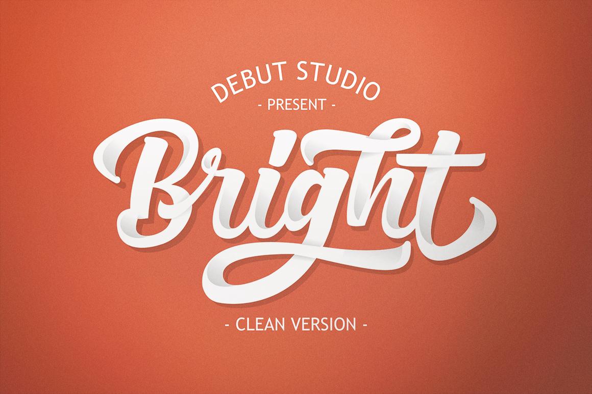 Bright Script (Fonts Trio)  example image 5