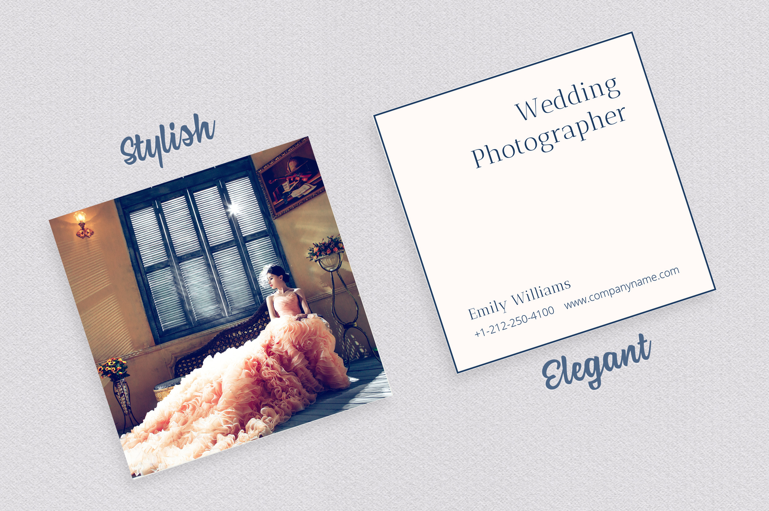 Wedding Photography Business Card example image 4