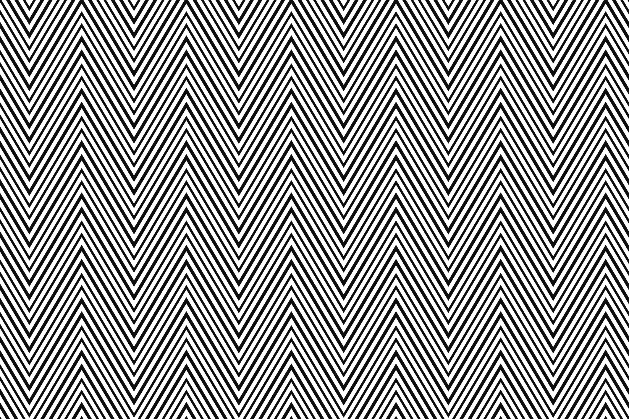 Wave&Zigzag seamless patterns. B&W. example image 10