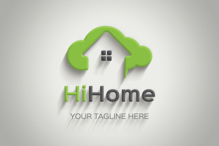 Cloud Home Property Logo example image 3