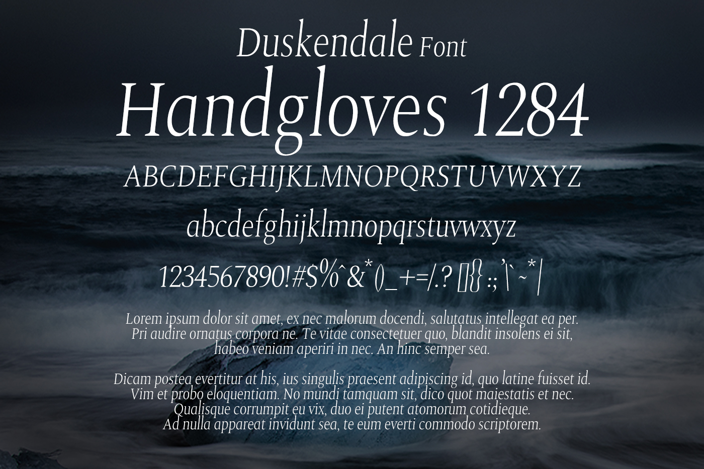 Duskendale Font example image 2