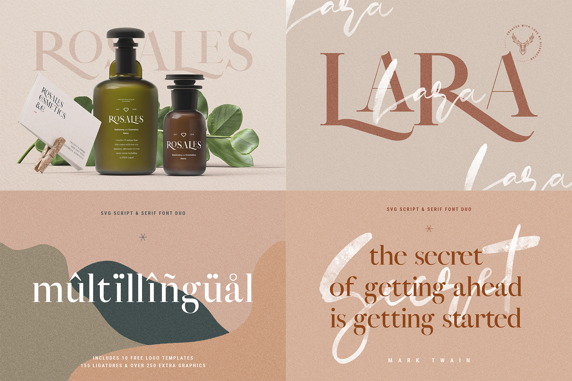 Font Bundle - Limited Time Edition With 80 Percent OFF example image 15