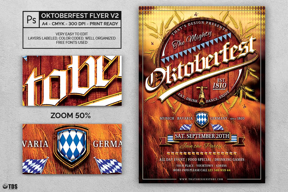 Oktoberfest Flyer Template V2 example image 3