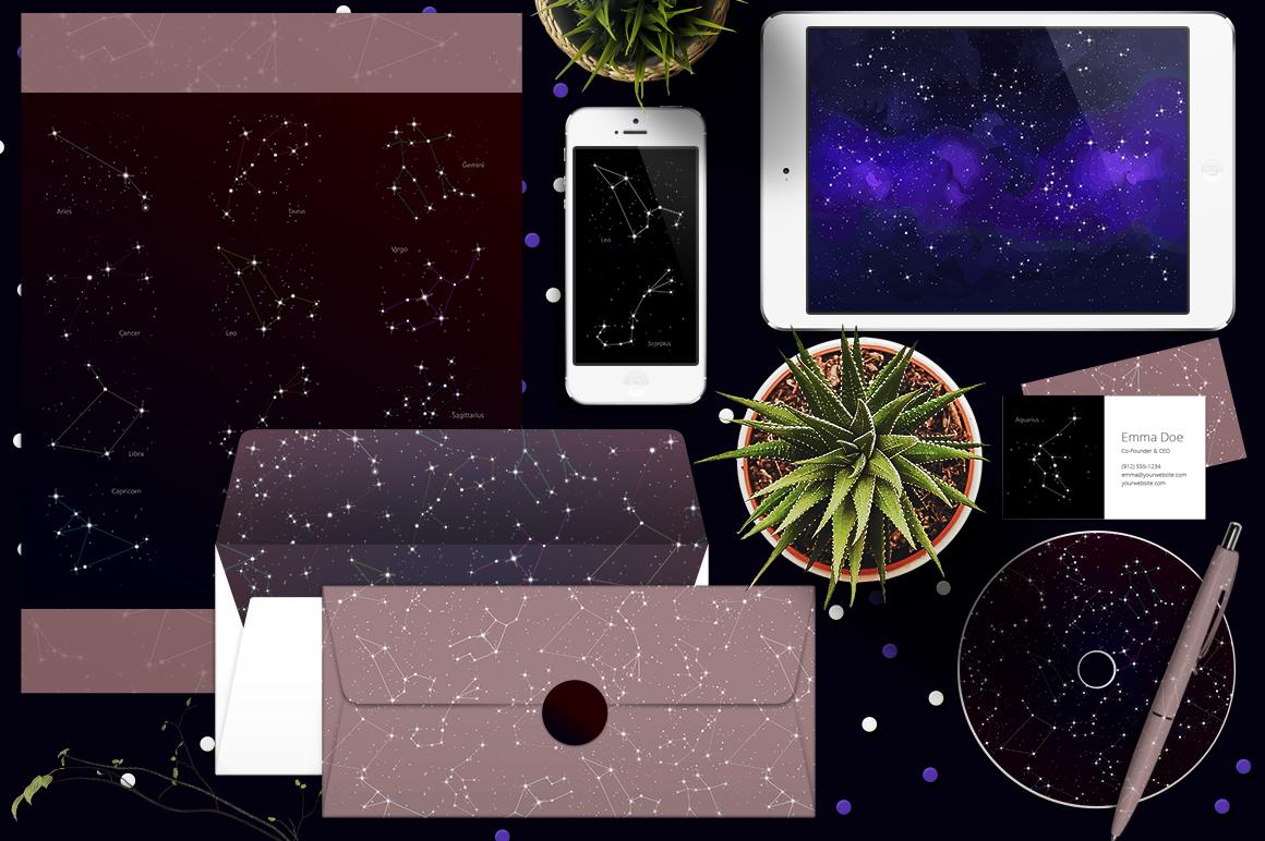 Cosmos vector set example image 7