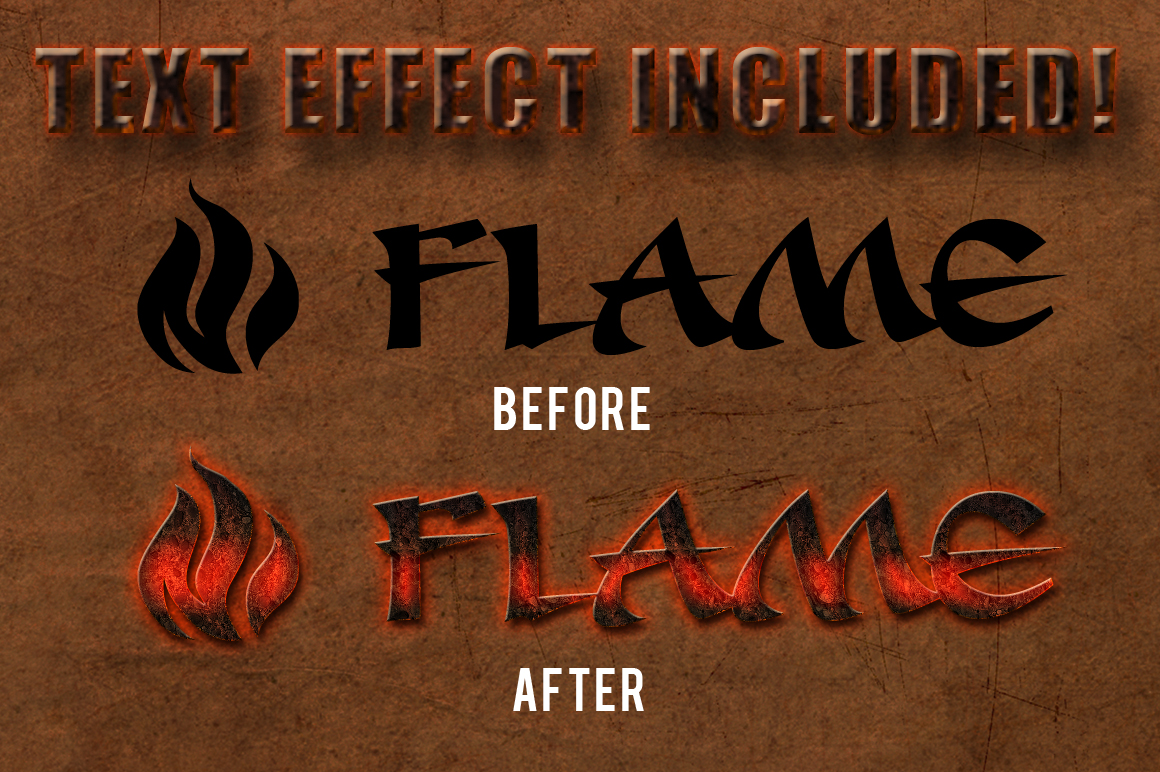12 Smoke and Flame Effects example image 3