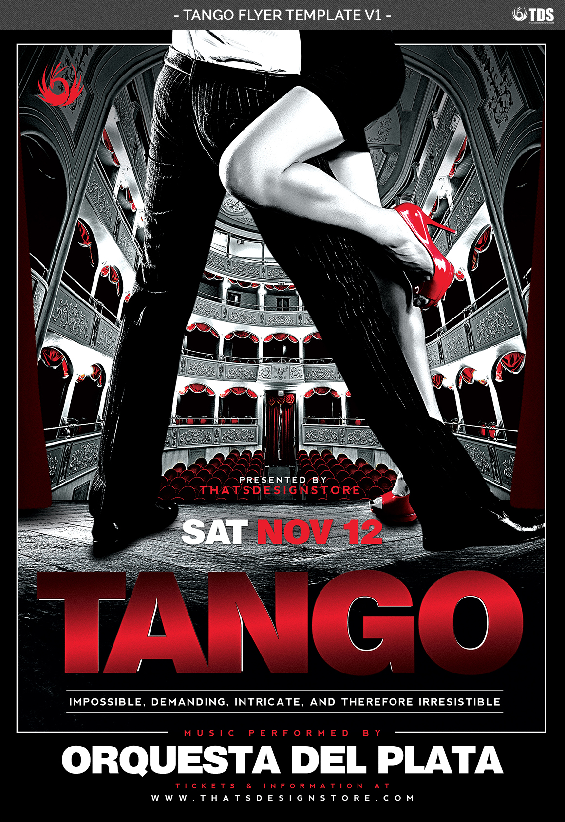 Tango Flyer Template V1 example image 4