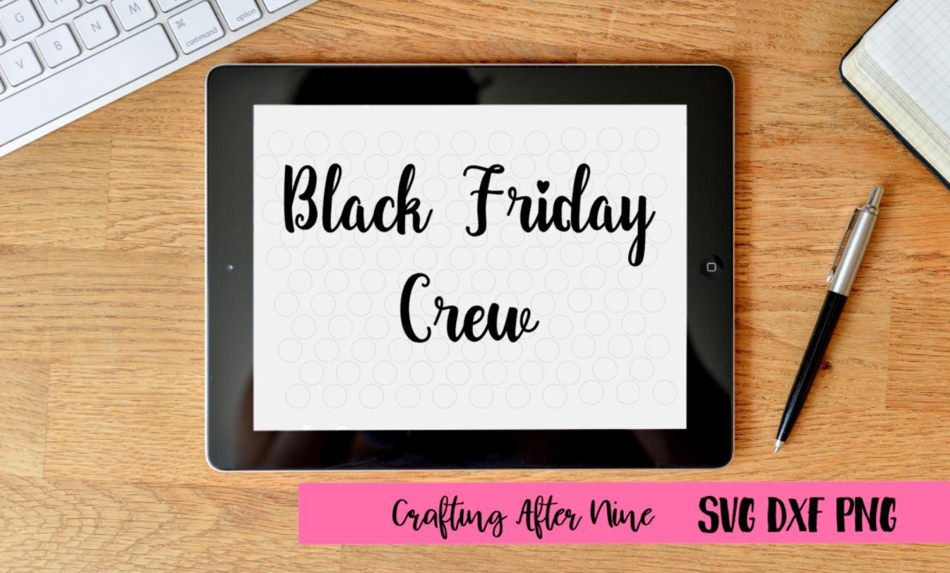 Black Friday Crew Svg, Black Friday Svg, Shopping Svg, Sale Shirt example image 1