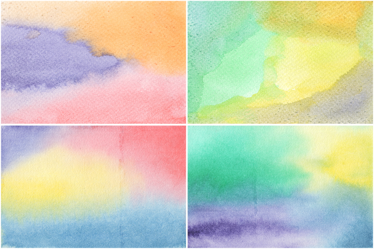20 Watercolor Backgrounds example image 4
