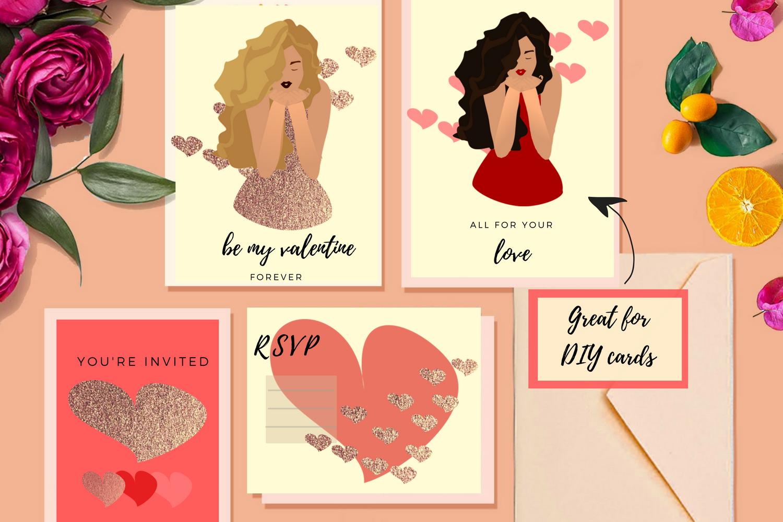 Valentine Crush Clip Art example image 2