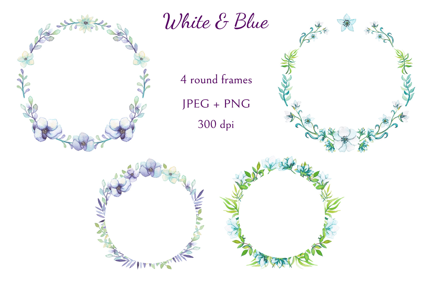 White and Blue example image 2