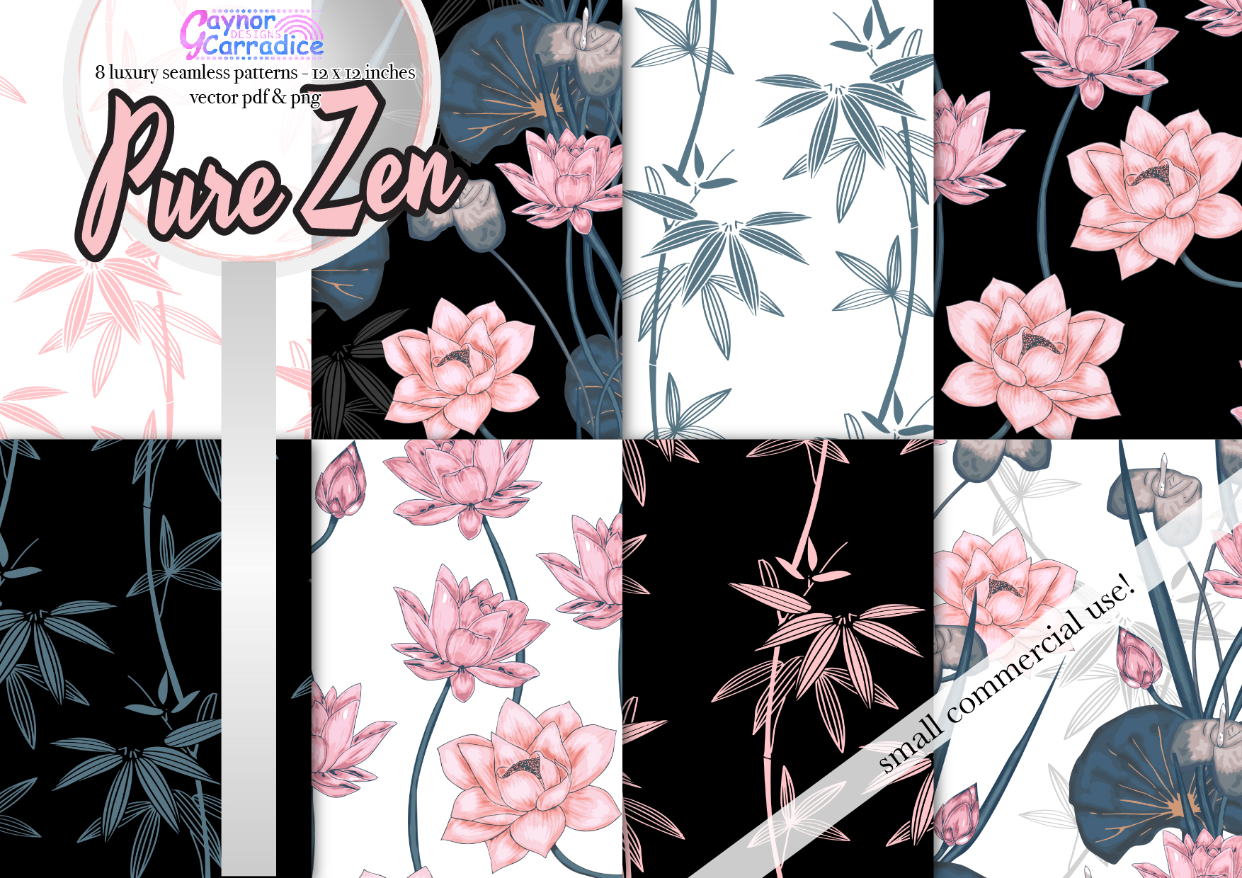 Pure Zen Pattern Collection example image 1