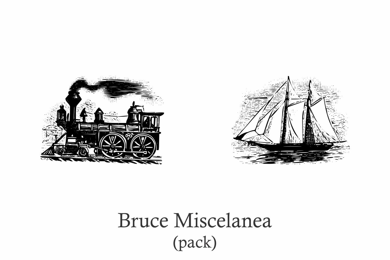 Bruce Miscelania (pack) example image 2
