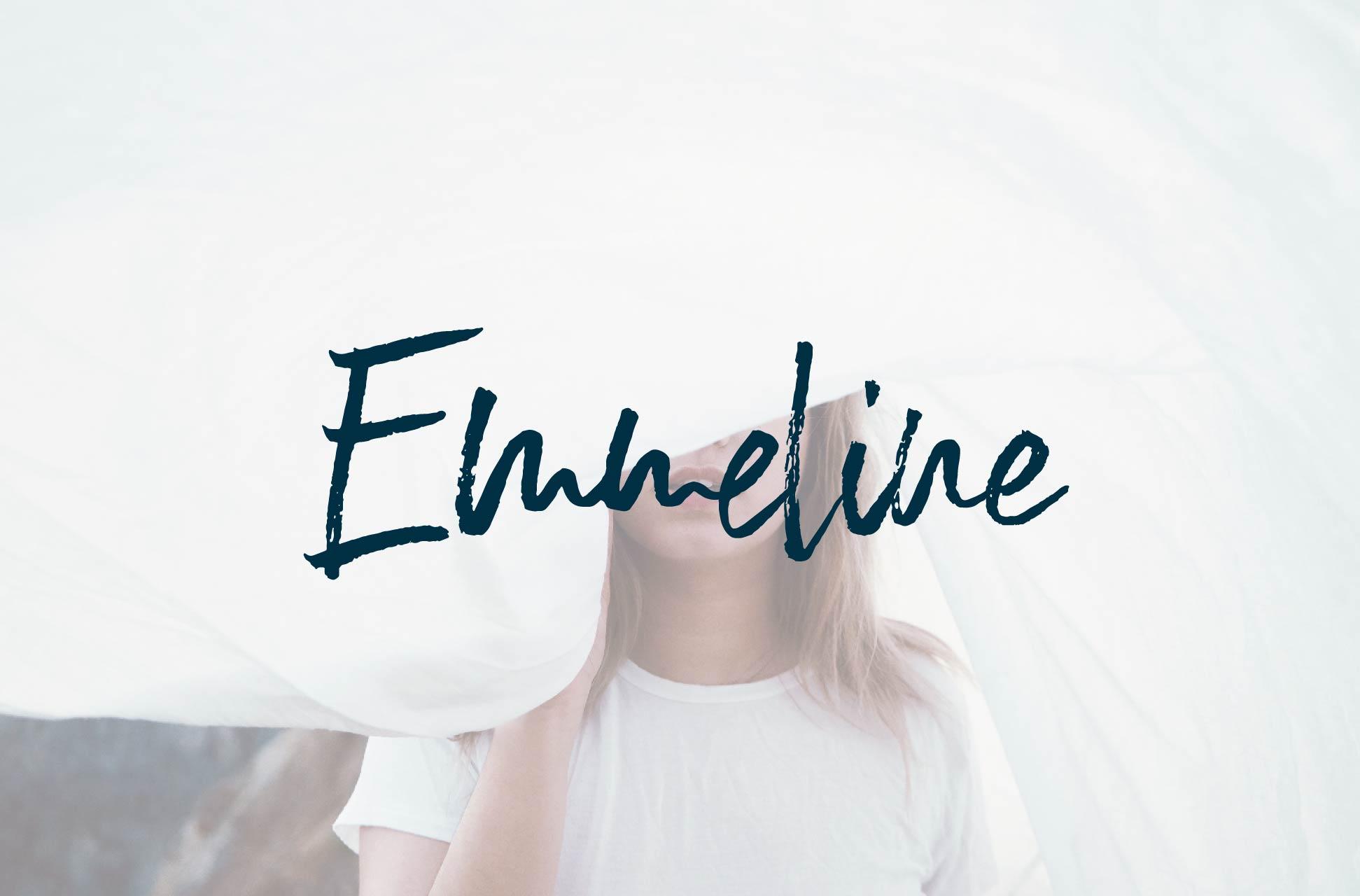 Emmeline Font example image 1